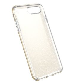 Speck Presidio case for iPhone 7 Plus - Clear With Gold Glitter